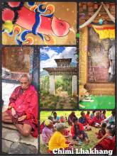 Chimi Lhakhang - fighting evil spirits with erected phallus symbols in Bhutan