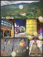National Museum of Bhutan - a watchtower and an exhibition of Bhutanese culture