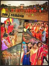 Teej Festival - Kathmandu is packed with praying women in red one day a year