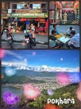 Pokhara - Nepal's unofficial tourism capital surrounded by the Himalayas
