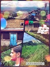Sarangkot - enjoying the great view over Lake Phewa and Pokhara