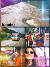 Kande - taking the local bus instead of hiking the entire way to Sarangkot