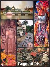 Bagmati River - a series of temples and a religious burning ritual in Kathmandu