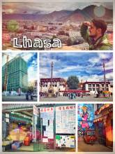Lhasa - exploring the very old, yet modern capital of Tibet (now China)