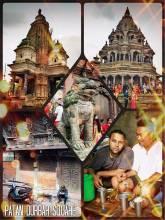 Patan Durbar Square - historic city center of Lalitpur, home of the Malla Kings in Kathmandu