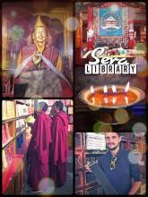 Sera Monastery Library - best place to find a book about Buddhism in Lhasa, Tibet