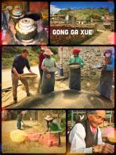 Gong Ga Xue - visiting a small farmer's village outside of Lhasa to see the real life