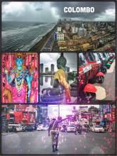 Colombo - enjoying the bustling metropolis while waiting for my India Visa