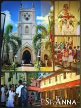 St. Anna's Church - passing by a full church on my way around Sri Lanka