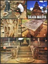 Sacred Quadrangle (Dalada Maluva) - a series of temples and shrines within the royal city Polonnaruwa