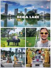 Beira Lake - a green oasis in middle of a bustling city and business district
