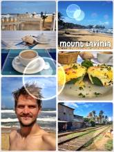 Mount Lavina - best way to spend my very last day in Sri Lanka, at the golden beach