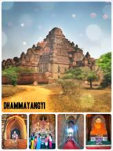 Dhammayan Gyi Temple - largest and widest temple in Bagan, built for the sins of King Narathu