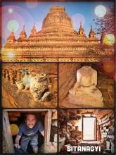 Sitanagyi Hpaya Pagoda Temple - climbing into an ancient temple and feeling like Indiana Jones in Bagan