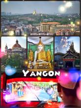 Yangon - Buddhist temples, sky bars, green parks invite to Myanmar's largest city