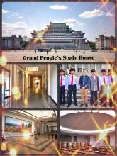 Grand People's Study House - preparing myself for a unique workshop in Pyongyang's pompous library