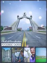 Arch of Reunification - one man's great dream to unify a divided nation without filling the gap