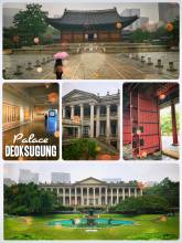 Deoksugung Palace - hiding from the rain in Seoul's royal palace and national arts museum