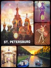 """St Petersburg - """"Venice of the North"""" built in 1703 by Peter the Great"""