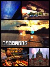 Hanover - staying with a friend and getting a private tour through the city center