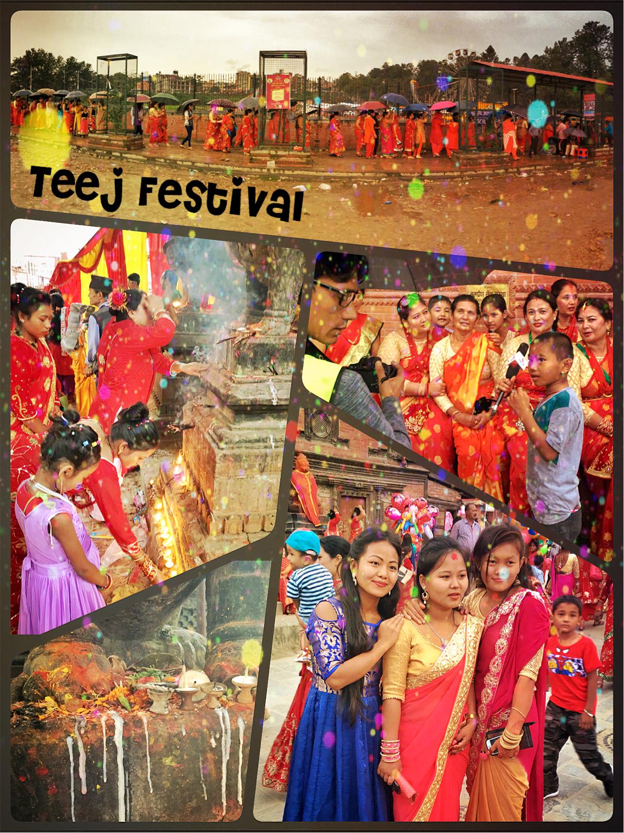 Teej Festival Asabbatical